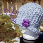 Free Crochet Pattern - Summer Couture Sun Hat by MNE Crafts