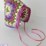Free Crochet Pattern - Vintage Granny Bonnet by Fiber Flux
