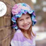 Crochet Pattern - Bubblegum Blast Beanie by Crystalized Designs