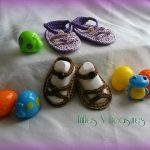 Crochet Pattern - Bonny Baby Sandals by Trifles & Treasures