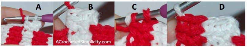 "Free Crochet Pattern - ""Celebrate"" Cozy & Coffee Sleeve by A Crocheted Simplicity Patriotic Crochet Project"