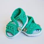 Crochet Pattern - Chevron Sandals by Mon Petite Violon