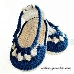 Crochet Pattern - Nautical Sandals by Pattern Paradise