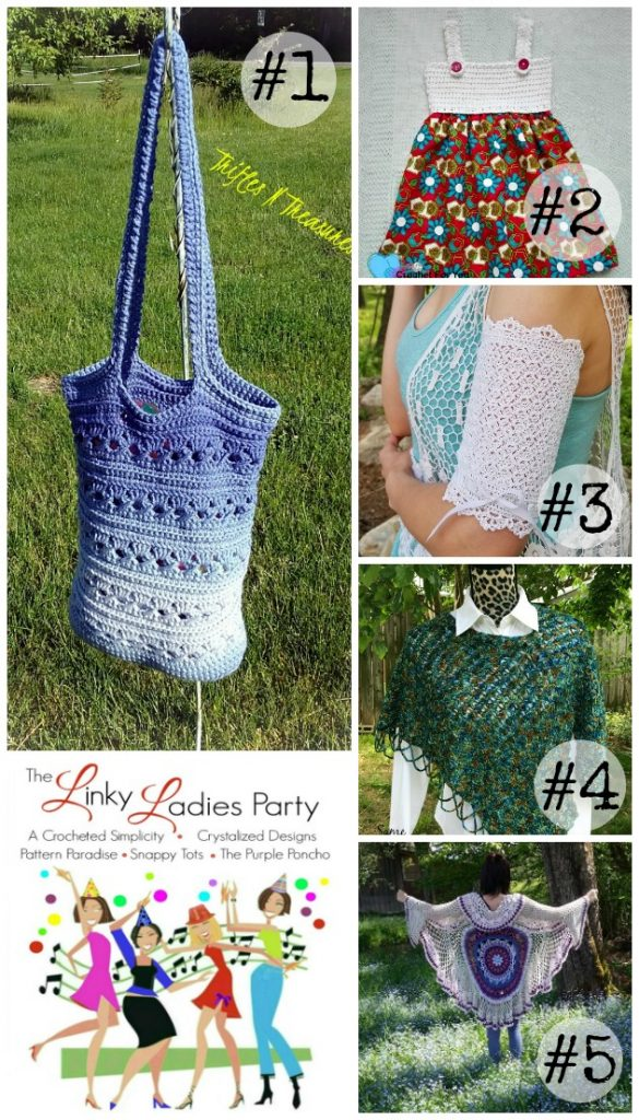 Come join The Linky Ladies Link Party! Add your projects for a chance to be featured!