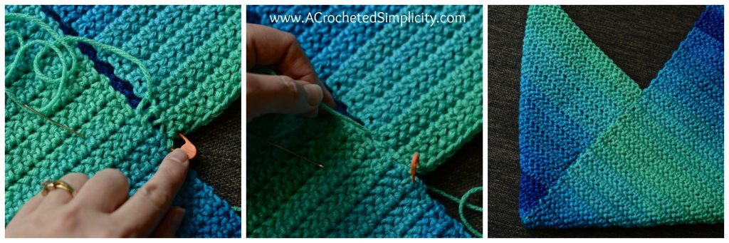 how to work mattress stitch