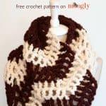 Free Crochet Pattern - big-bold-chevron-cowl by Moogly