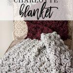 Free Crochet pattern- Charlotte Blanket by Rescued Paw Designs