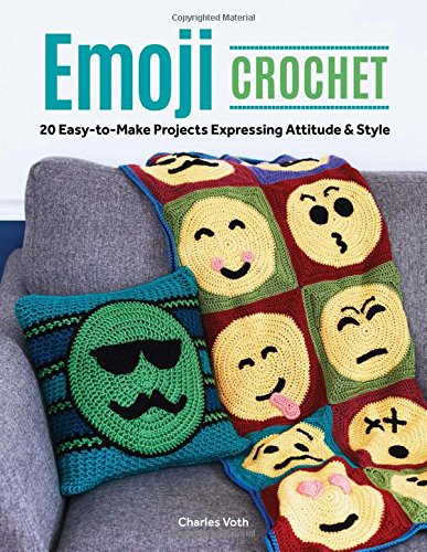 Emoji Crochet by Charles Voth - Book Review & Giveaway by A Crocheted Simplicity