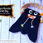 Free Crochet Pattern - Hungry Monster Candy Bag by A Crocheted Simplicity