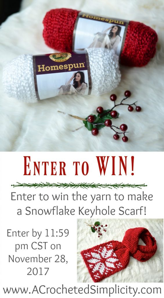 Yarn Giveaway sponsored by A Crocheted Simplicity