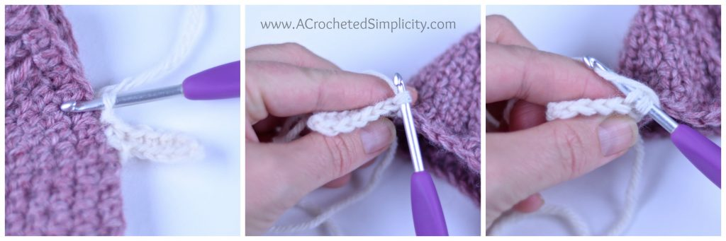 Crochet Video Tutorial: Learn How to Add a Stretchy Knit-Look Band or Cuff to Your Crochet Projects by A Crocheted Simplicity