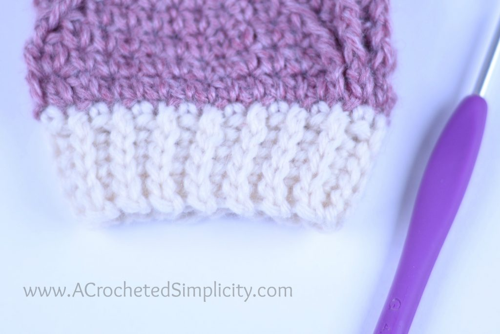 Crochet Video Tutorial: Learn How to Add a Stretchy Knit-Look Ribbed Band or Cuff to Your Crochet Projects by A Crocheted Simplicity