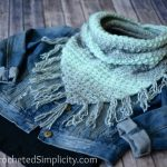 Free Crochet Pattern - Scarfie Bandana Cowl by A Crocheted Simplicity
