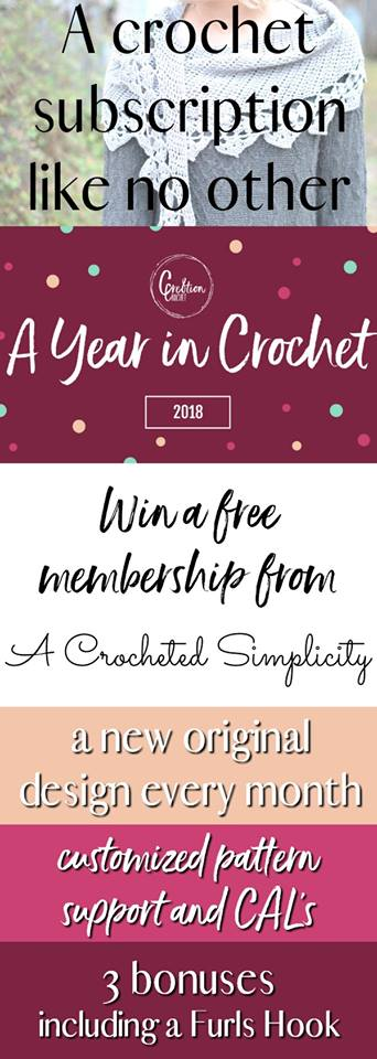 A Year in Crochet - GIVEAWAY!