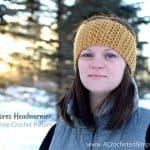 Free Crochet Pattern – Chic Textures Headwarmer