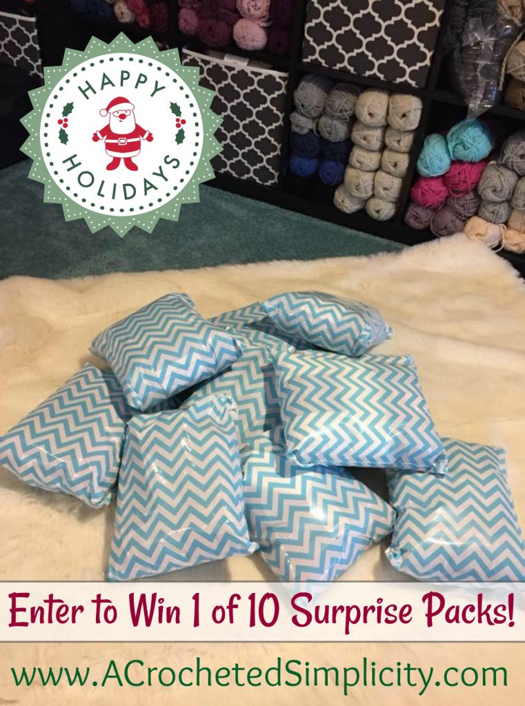 Win 1 of 10 Surprise Packages - Christmas Giveaway on A Crocheted Simplicity