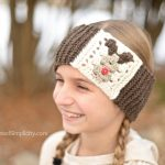 Free Crochet Pattern - Reindeer Headwarmer by A Crocheted Simplicity