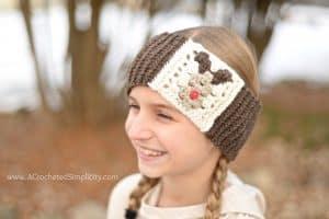 Free Crochet Pattern – Reindeer Headwarmer