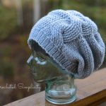 Crochet Pattern - Big Bold Cabled Slouch by Crocheted Simplicity
