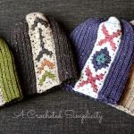 """Crochet Pattern - """"Boho Chic"""" Mosaic Slouch 6-in-1 by A Crocheted Simplicity"""