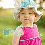 """Crochet Pattern - """"Chasing Chevrons"""" Sunhat by A Crocheted Simplicity"""