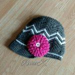 "Crochet Pattern - ""Chasing Chevrons"" Newsboy by A Crocheted Simplicity"