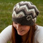 """Crochet Pattern - """"Chasing Chevrons"""" Slouch by A Crocheted Simplicity"""