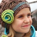Crochet Pattern - Diagonal Chevron Slouch by A Crocheted Simplicity