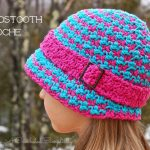 Crochet Pattern - Houndstooth Cloche by A Crocheted Simplicity