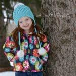 "Crochet Pattern - ""Mock Smock"" Beanie & Slouch by A Crocheted Simplicity"
