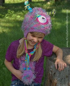 Free Crochet Pattern - Monster Mash Beanie or Earflap Hat by A Crocheted Simplicity