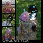 Crochet Pattern - Monster Mash Hats by A Crocheted Simplicity