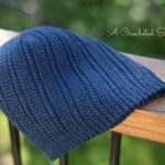 "Crochet Pattern - ""Knit-Look"" Everyday Beanie & Slouch by A Crocheted Simplicity"