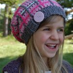 """Crochet Pattern - """"Perfectly Plaid"""" Slouch by A Crocheted Simplicity"""