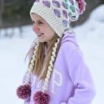 Crochet Pattern - Polka Dot Slouch by A Crocheted Simplicity