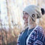 Crochet Pattern - Powderhorn Ski Slouch by A Crocheted Simplicity