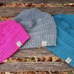 Crochet Pattern - Purl Illusions Messy Bun & Slouch