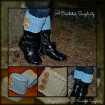 Crochet Pattern - Ribbed Boot Cuffs by A Crocheted Simplicity