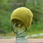 Crochet Pattern - Right This Way! Beanie (Worsted) by A Crocheted Simplicity