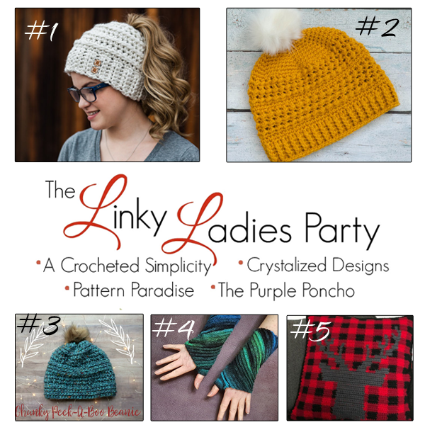 afec80b2a80def The Linky Ladies Party #124 - A Crocheted Simplicity