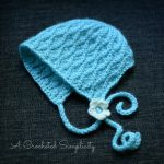 "Crochet Pattern - ""Summer Waves"" Bonnet by A Crocheted Simplicity"