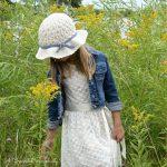 """Crochet Pattern - """"Summer Waves"""" Sunhat by A Crocheted Simplicity"""