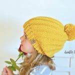 Crochet Pattern - Tearlach Beanie & Slouch by A Crocheted Simplicity