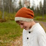 Crochet Pattern - Theron Beanie & Slouch by A Crocheted Simplicity