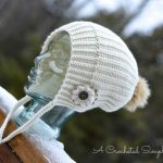 """Crochet Pattern - """"Winter Poms"""" Slouch by A Crocheted Simplicity"""