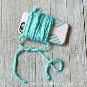 Floppy Yarn Pom Tutorial by A Crocheted Simplicity
