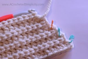 Free Crochet Pattern - Knit-Look Super Bulky Slouch by A Crocheted Simplicity