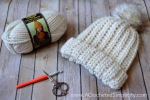 Free Crochet Pattern – Knit-Look Super Bulky Slouch