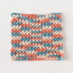 Free Crochet Pattern - Confused Textures Dishcloth design by Jennifer Pionk for Knit Picks
