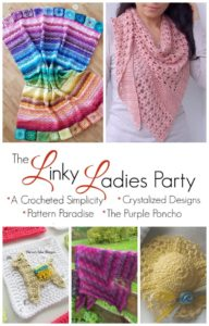 Come join us for The Linky Ladies community link party! Enter for a chance to win a $25 Amazon gift card simply by linking up your knit or crochet project!